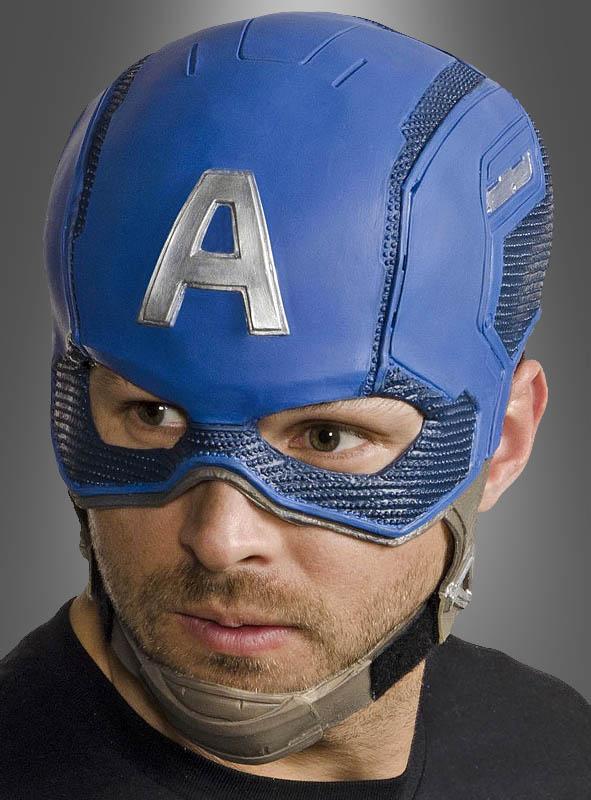 Captain America Latexmaske