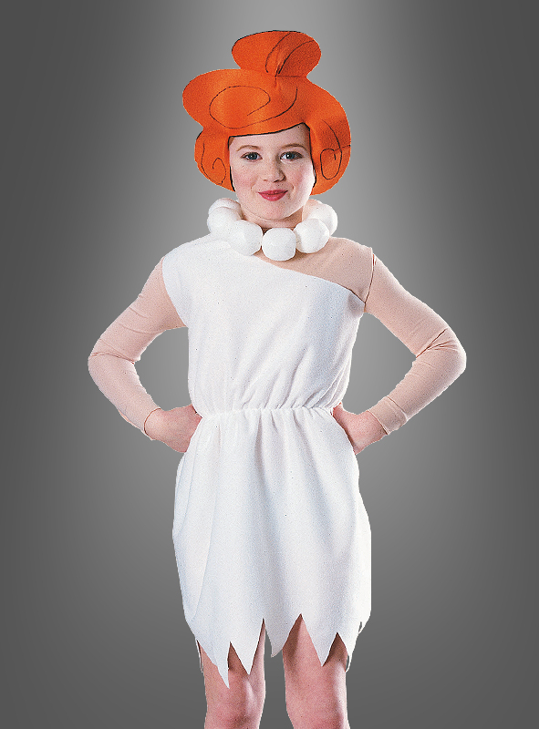 Wilma Flintstone child costume