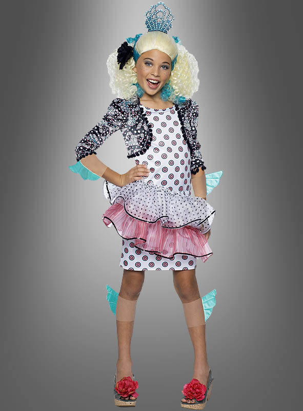 Monster High Lagoona Blue Costume with Wig