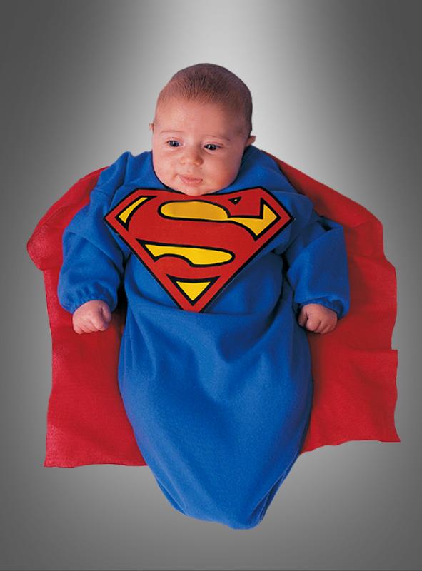 Superman Baby Strampelsack Kostüm