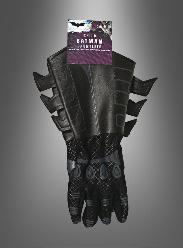 kinder handschuhe f r batman kost m. Black Bedroom Furniture Sets. Home Design Ideas