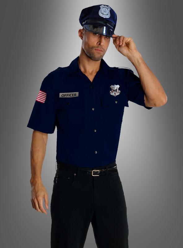 Uniform Polizei US Officer Kostüm