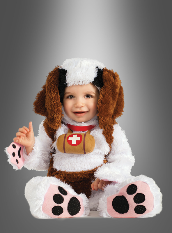 St. Bernard children costume