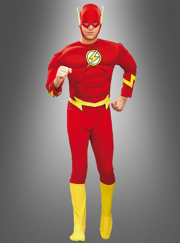Deluxe Muskelkostüm The Flash Adult