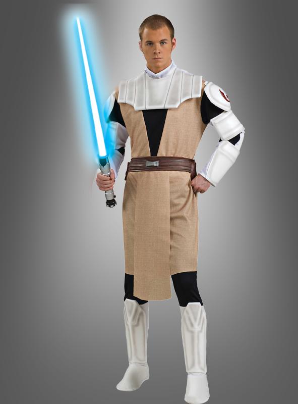 Clone Wars Deluxe Obi-Wan Kenobi Kostüm Erw.