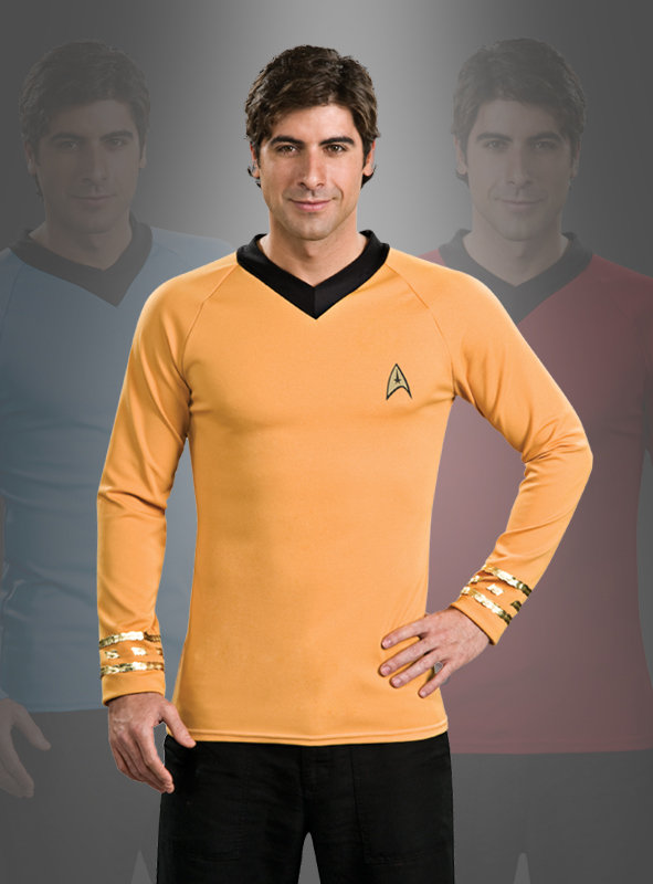 Star Trek Classic gold Shirt