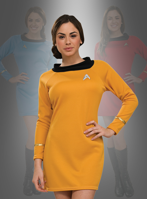STAR TREK Uniform Classic Dress gold