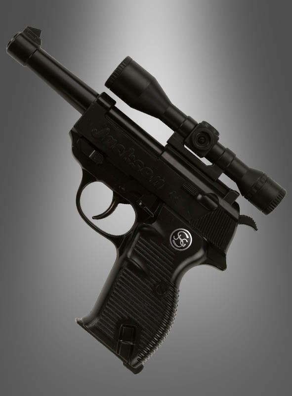 Pistole Jackson mit Zielfernrohr