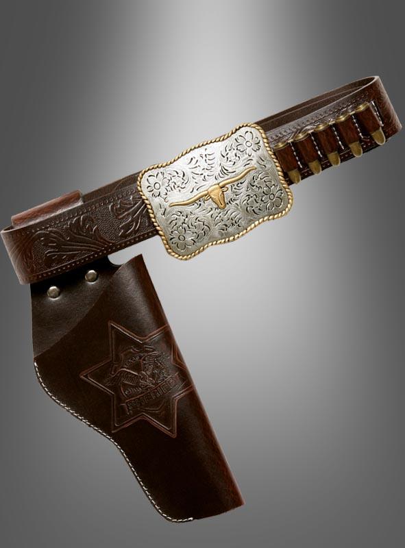 Patronengürtel Cowboy