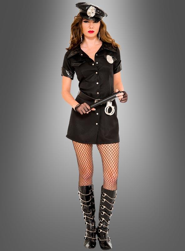 Sexy Polizeibeamtin Komplettkostüm