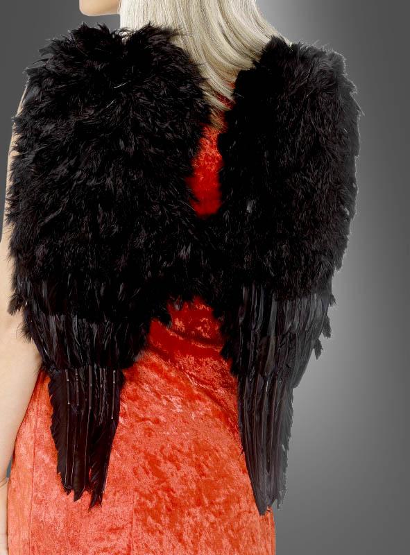 Engelsflügel schwarz
