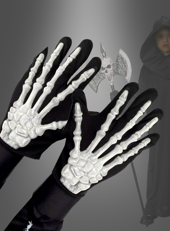 Skelett Handschuhe Kinder