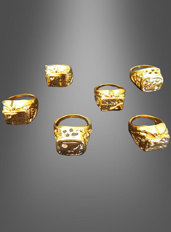 Ring gold jumbo pimp