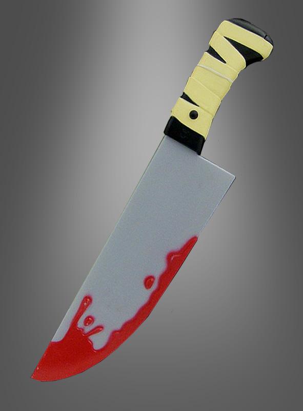 Screaming blutiges Messer + Sound