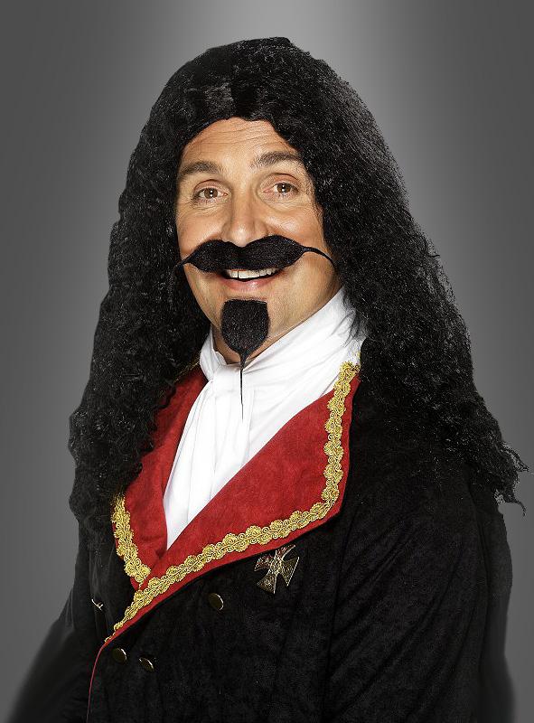 Musketeer wig black