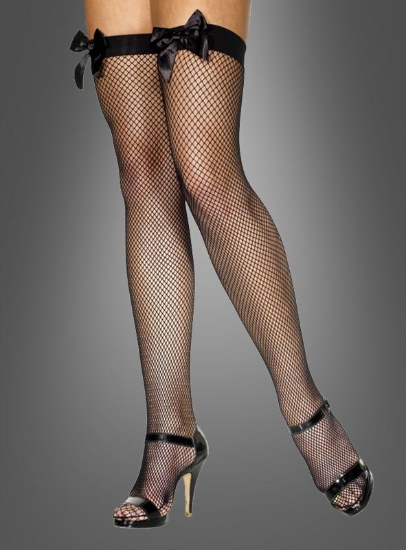 Stockings fishnet black