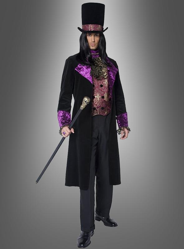 Gothic count Vampire Costume