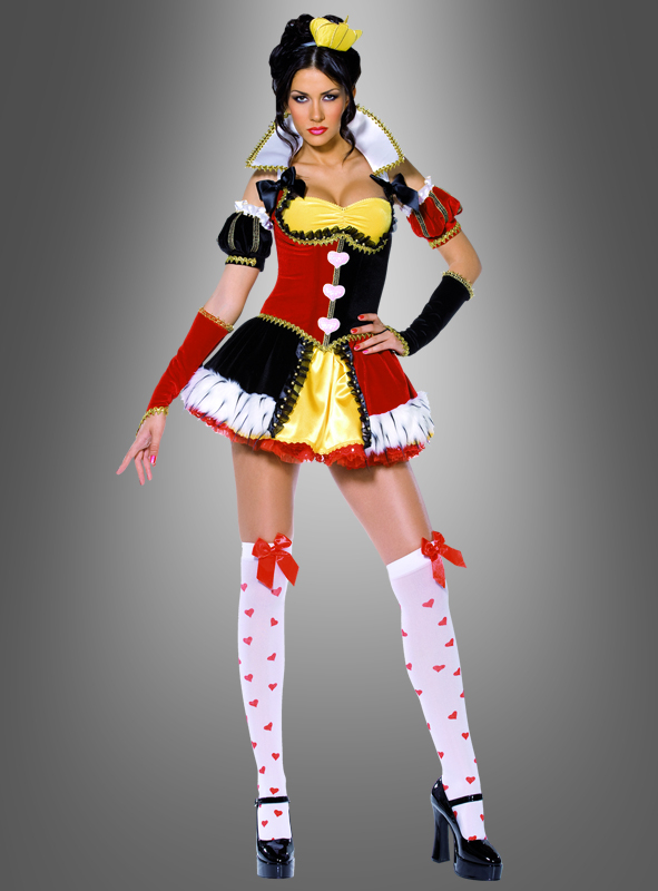 Kostüm Königin der Herzen