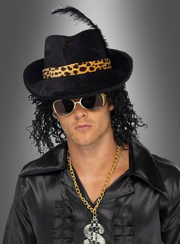 Pimp Hat schwarz