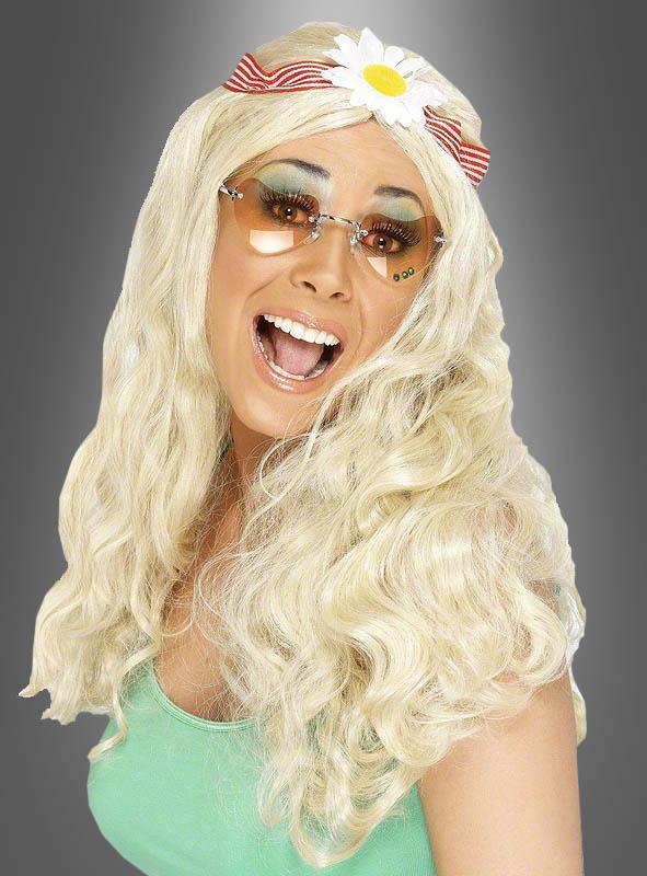 Flower Power Wig blonde