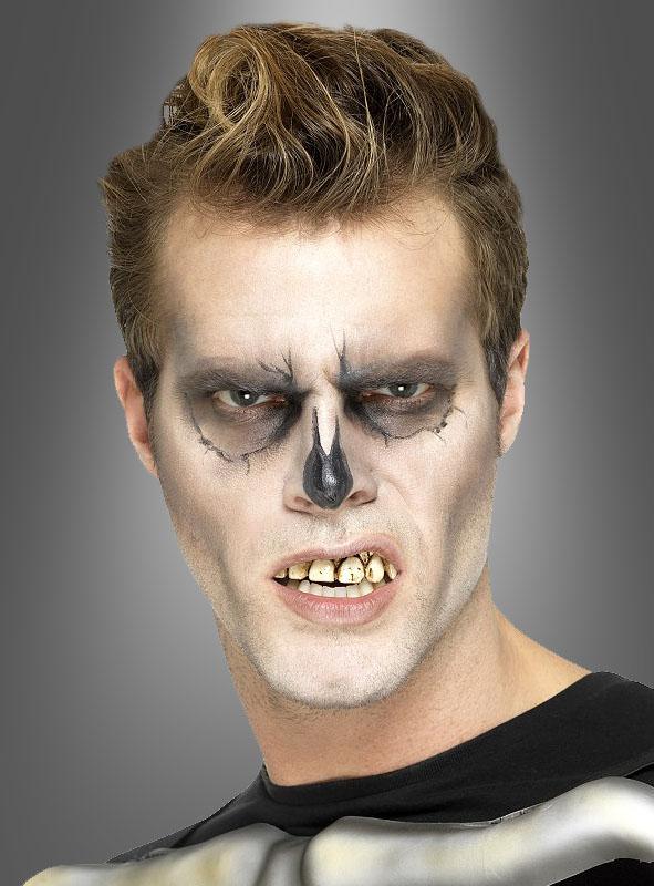 Hässliche Zähne Gebiss für Skelett Billy Bob