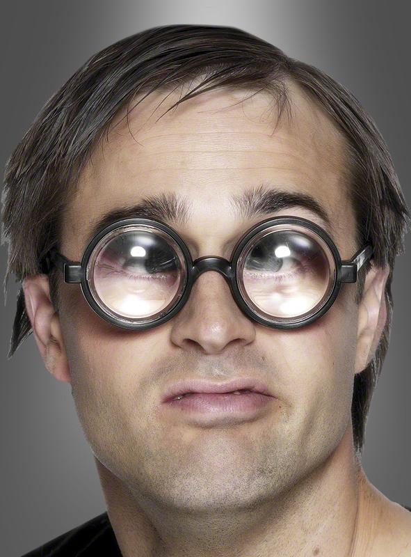 Spaßbrille Vergrößerungsglas Nerd