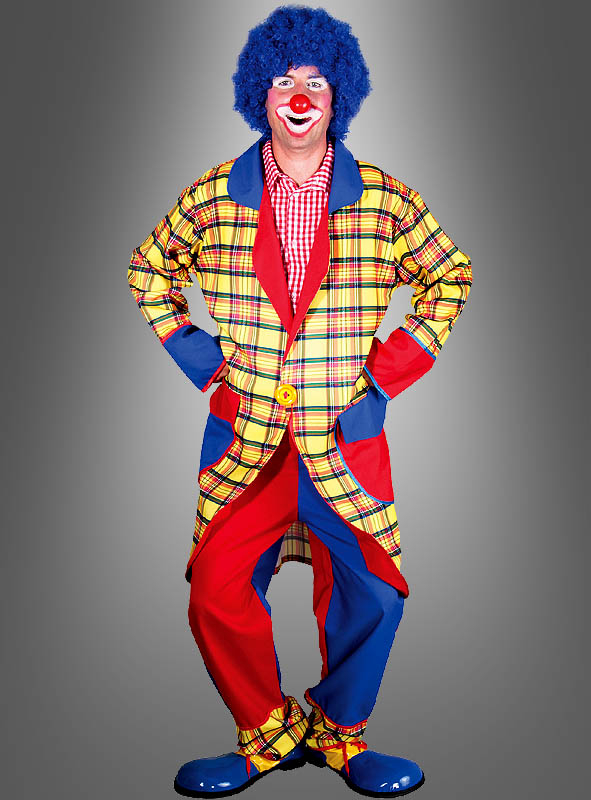Cheerful Clown Costume for Men