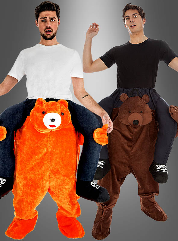 Bear Piggyback Costume