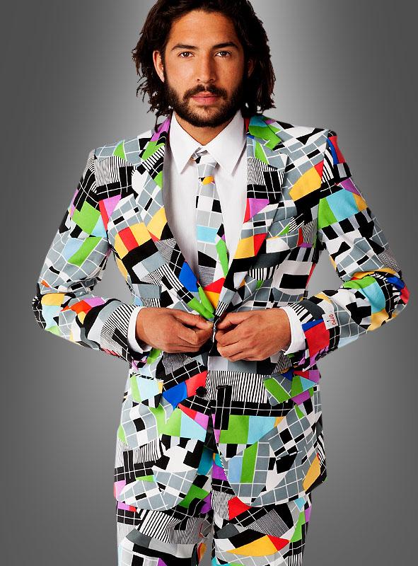 Gemeinsame 90er Jahre Mode für Herren » Techno 90er Outfit » Kostümpalast @QP_31