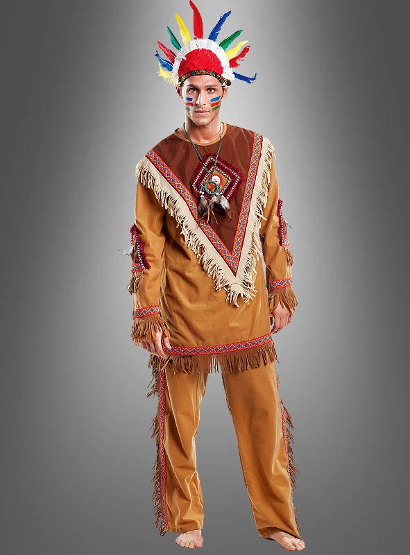 Men Costume Native American Deluxe