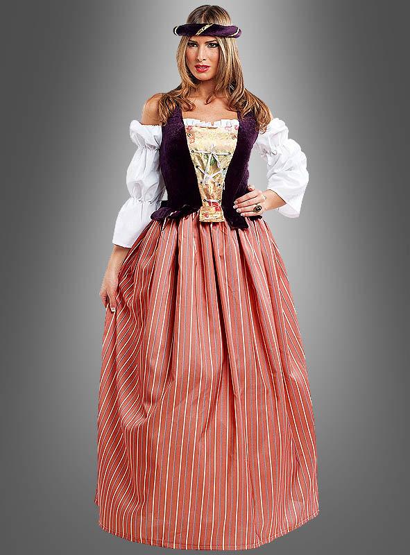 Burgfräulein Kostüm Florentine