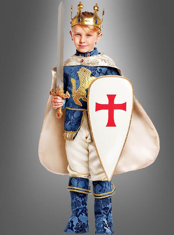 Kreuzritter Kostüm Löwenherz für Kinder Deluxe