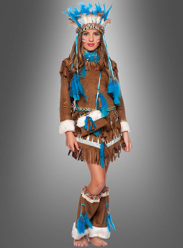 Native American Dress for Girls Deluxe