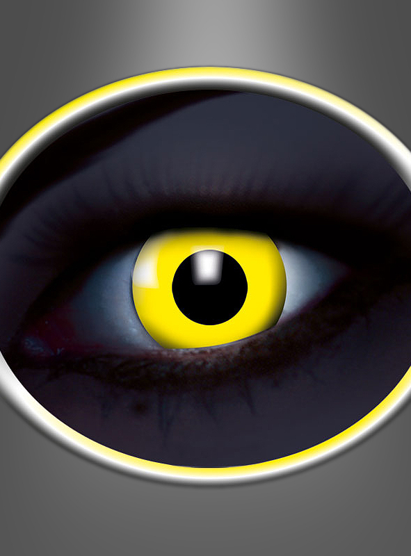 1 Month Contact Lenses UV Flash Yellow