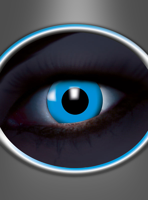 1 Month Contact Lenses UV Flash Blue