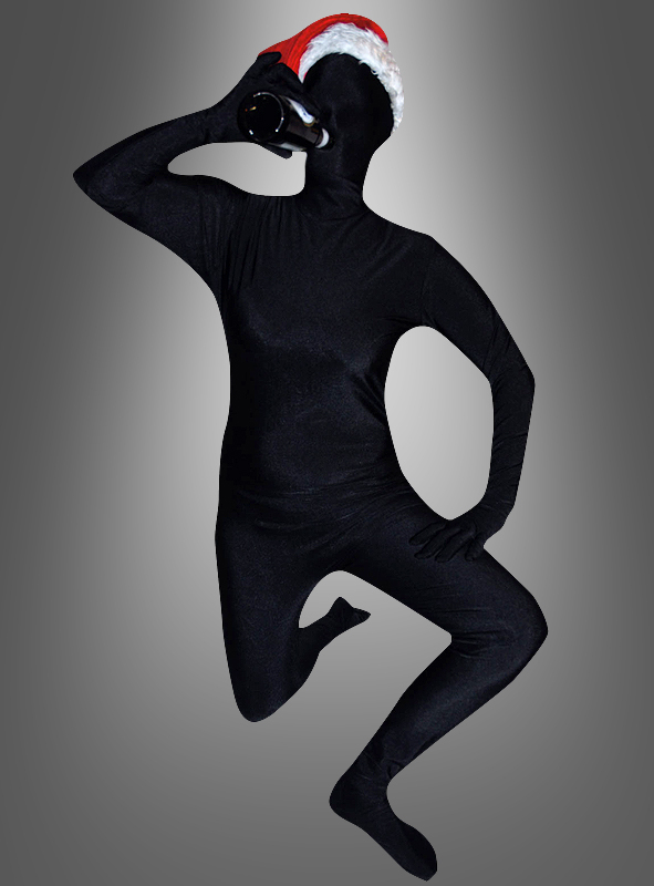 Schwarzer Anzug zweite Haut