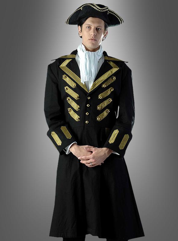 Schwarzer Mantel Piratenkönig