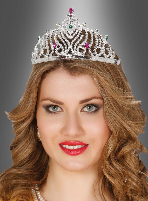 Königin Krone Prinzessin silber