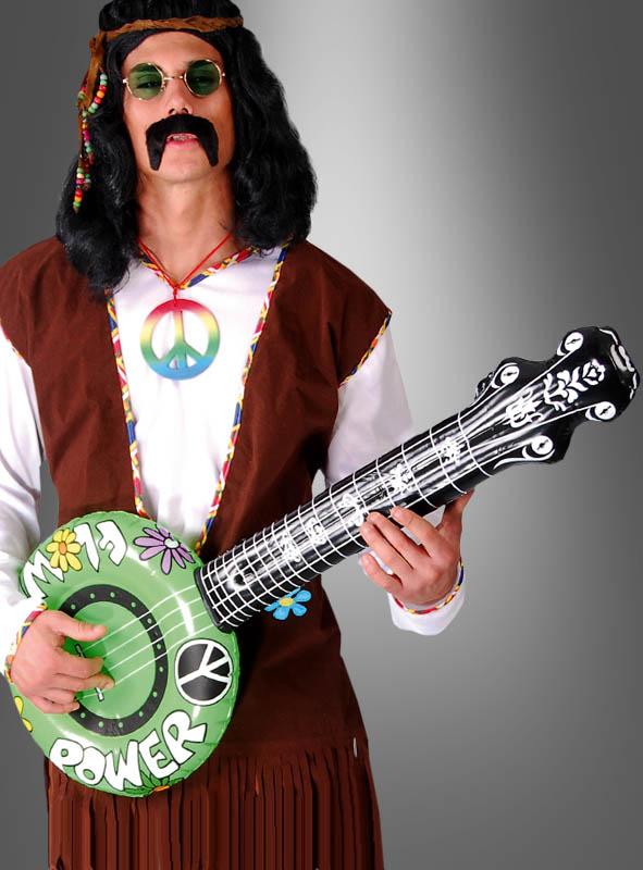 Aufblasbares Banjo für Hippies