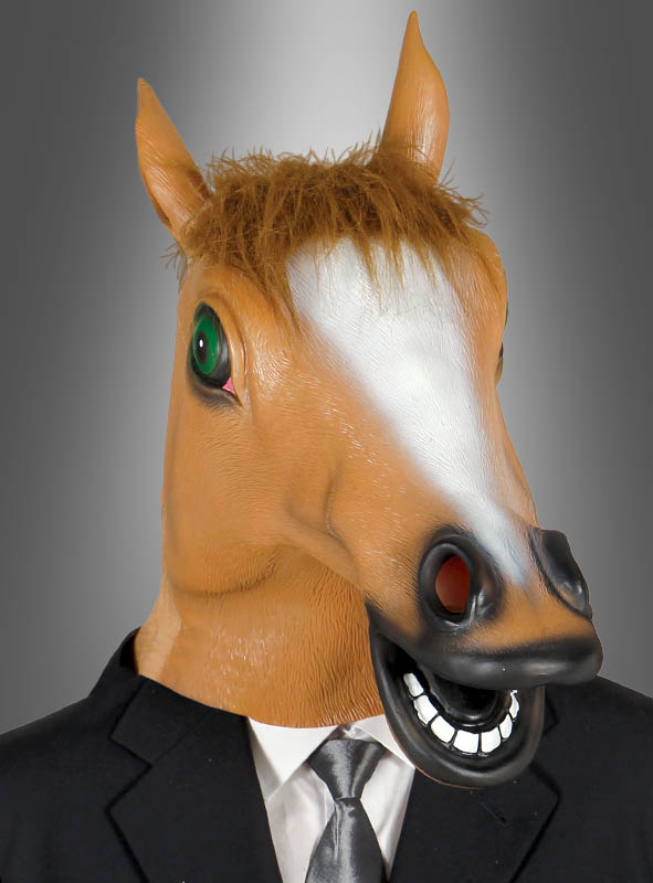 Horse Had Mask Adult