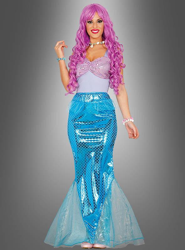 Meerjungfrau Damenkostüm Nixe