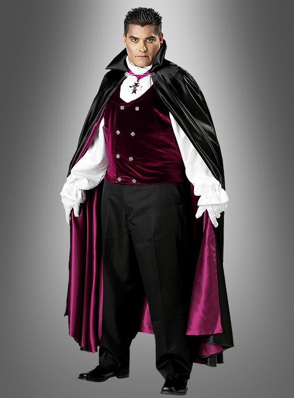 Gothic Vampire deluxe costume plus size