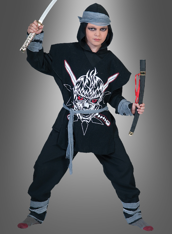 Ninja Warrior children costume