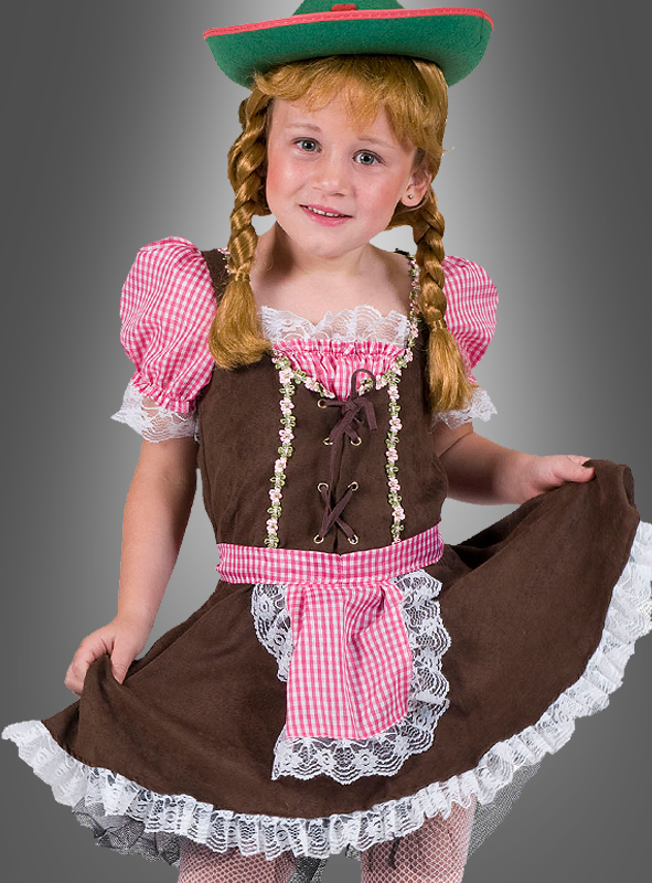 Dirndl dress Rosa for girls