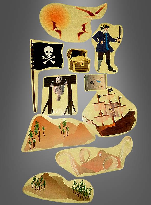 Wall Decoration StickerSet Pirate
