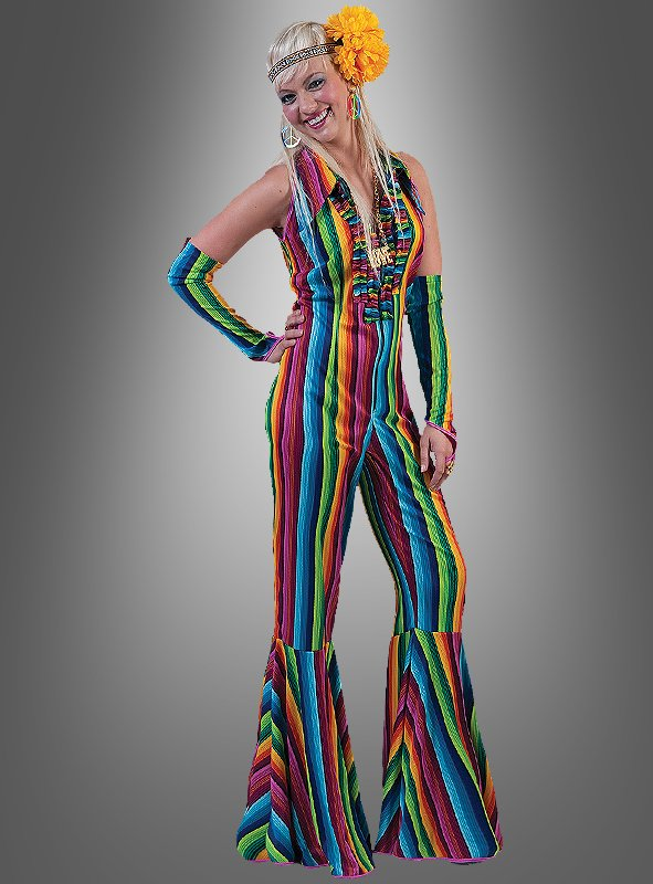 Multicolored Hippie Costume