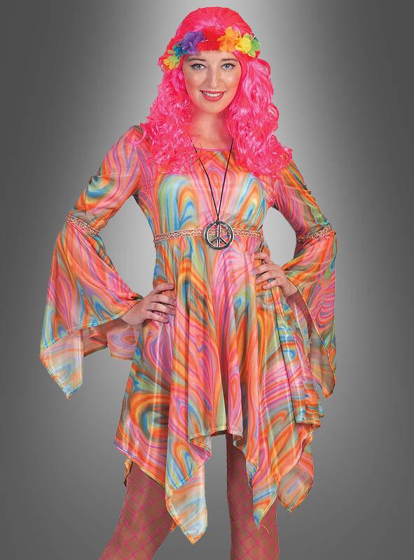 Hippie Batik Kleid für Damen