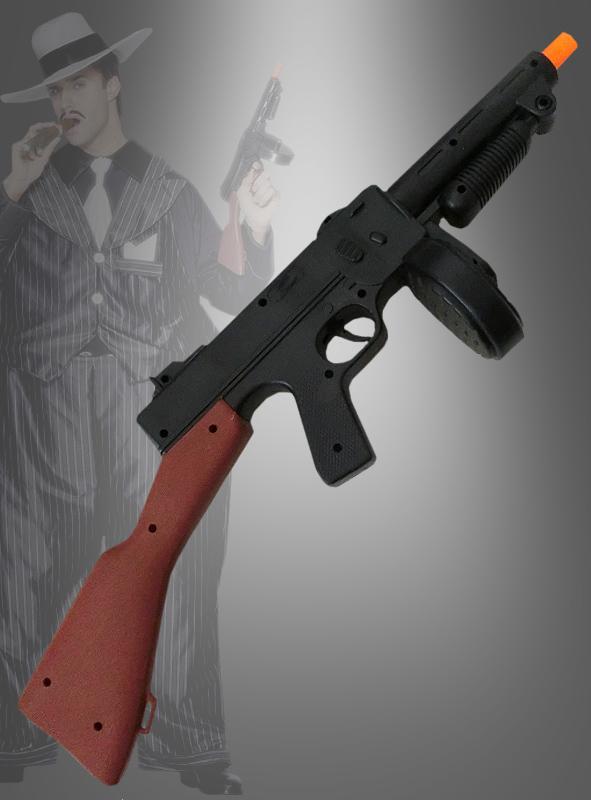 Mafia Tommy Gun schwarz
