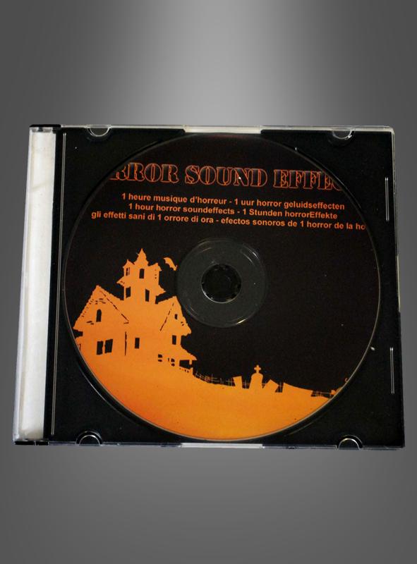 Halloween music CD