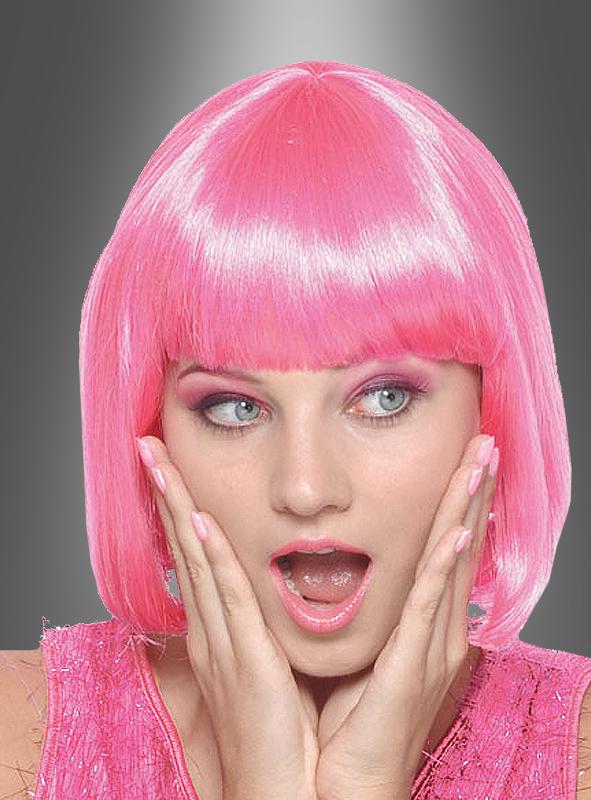 Sexy Holly Perücke rosa